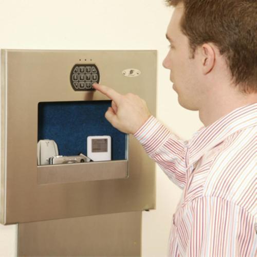 SecureLogic Keypad Wall Vault