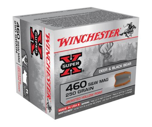 Winchester Super-X Handgun .460 Smith & Wesson 250gr, Jacketed Hollow Point