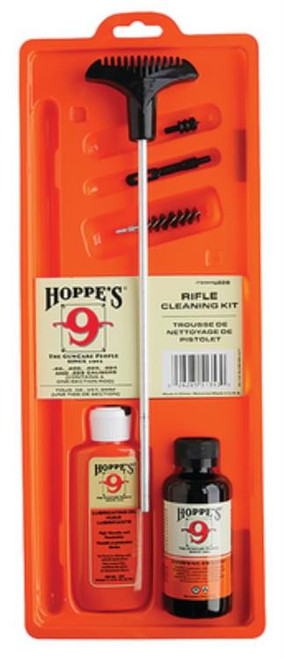 Hoppes Pistol Cleaning Kit Steel Rod Clam Pack Universal