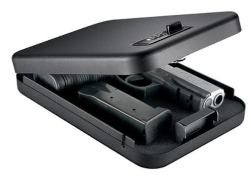 "GunVault Nanovault 300 Safe With Combo Lock, Airline Approved, Ext. Dim 1.75x6.5x9.5"", Int. Dim. 1.5x6.25x9.25"""