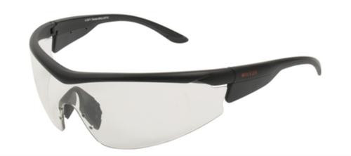 Allen Ruger Concept Shooting Glasses 3-Lens Interchangeable Set Black Frame Mirror Smoke/Clear/Yellow Lens