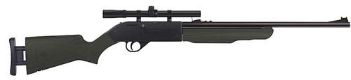 Crosman Torrent SX Air Rifle Kit Bolt .177 & BBs Adjustable Grn Stock Black