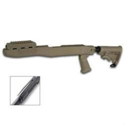 Tapco SKS Stock System Blade Bayonet Cut - Dark Earth
