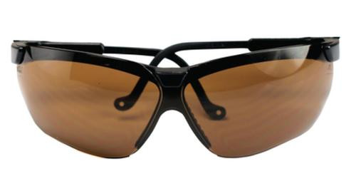 Howard Leight Genesis Glasses Black Frame Espresso Lens