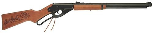 """Daisy Red Ryder Fun Kit, BB, 350 Feet Per Second, 10.75"""" Barrel, Black Color, Wood Stock, 650Rd Capacity"""
