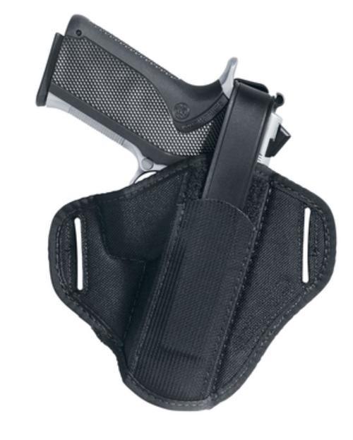 Uncle Mike's Belt Slide Holster Size 12, Glock 26/27/33, Black Laminate