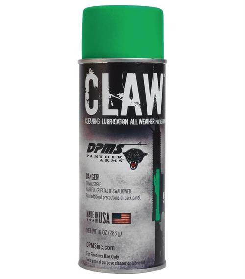 DPMS CLAW Cleaner Lubricant All Weather, 10 oz Aerosol Can