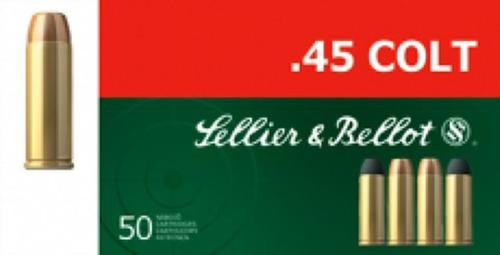 Sellier and Bellot 45 Long Colt 250 LFN 50Rd/Box