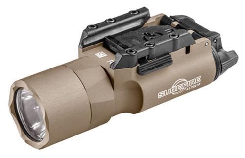 Surefire X-Series X300 Ultra LED Weapon Light, 6v, 500 Lumens, Tan, Aluminum