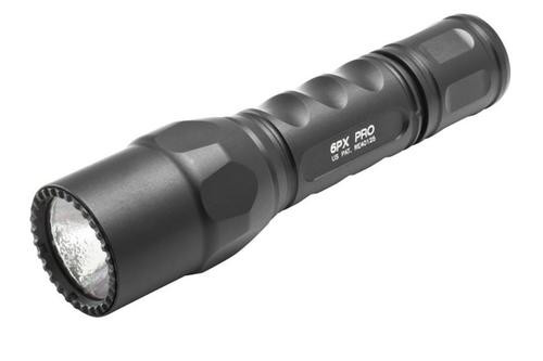 Surefire 6PX Pro, Extremely bright dual output, 200 lumens, handheld tactical flashlight.