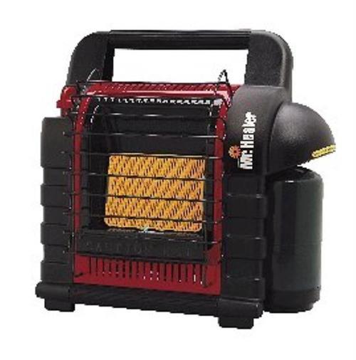 Mr. Heater Portable Buddy Heater Heats 200 sqft Black/Red