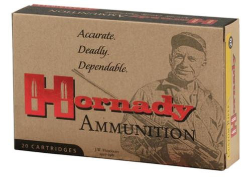 Hornady InterLock 308 Win-7.62mm 165gr, Boat Tail, Soft Point, 20rd Box