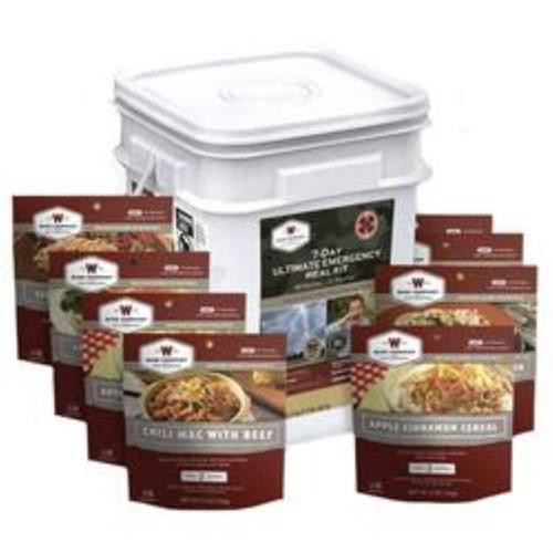 Wise Foods Grab And Go Ultimate 7 Day Emergency Bucket, 58 Servings, 25 Year Shelf Life