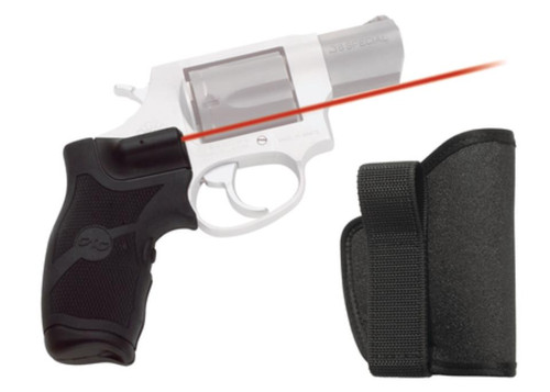 Crimson Trace Lasergrip Rubber Overmold Taurus Small Frame With Holster