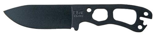 "Ka-Bar Becker Necker Fixed 3.25"" 1095 Cro-Van Black Drop Point 1095 Cro-Va"