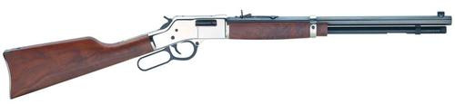 "Henry Big Boy Silver Engraved, .45 Colt, 20"", American Walnut, Blued/Silver, 10rd"