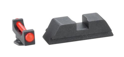AmeriGlo Target Competition Set For Glock 20-41 .115 Front Red Fiber .150 Rear Notch