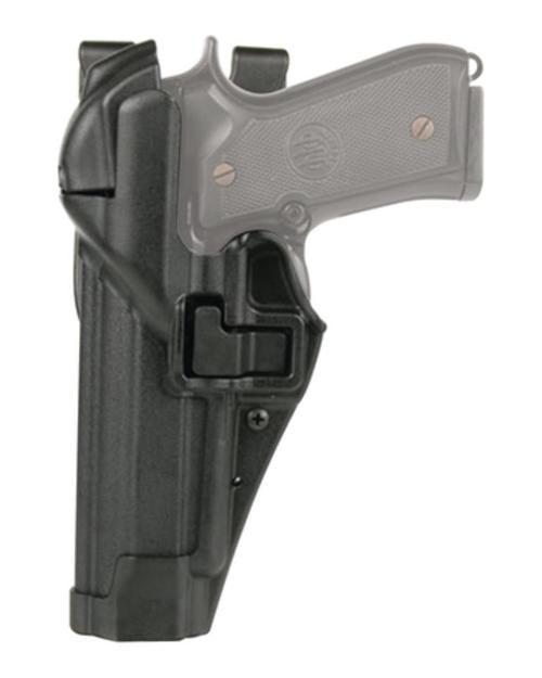 Blackhawk Level 3 Serpa Auto Lock Duty Matte Black Left Hand For S&W 5946