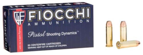 Fiocchi Shooting Dynamics .38 S&W Special 125gr, Semi Jacketed Hollow Point, 50rd Box