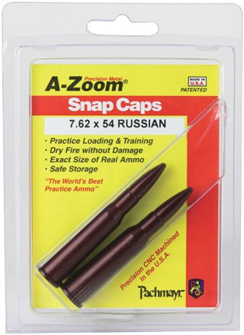 A-Zoom Snap Cap for 7.62x54R 2 Pk