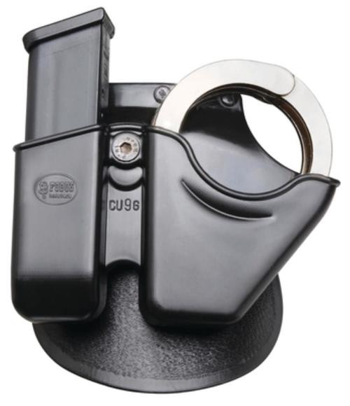Fobus Paddle Magazine/Universal Cuff Combo For Glock/H&K 9mm/.40SW Magazines, Black