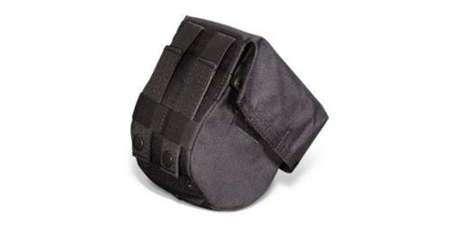 Adaptive Tactical Drum Mag Pouch, 10 Round, Nylon, Black