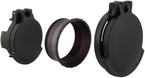 Trijicon Tenebraex Eyepiece and Objective Flip Cap Set With Retainer For Trijicon SRS