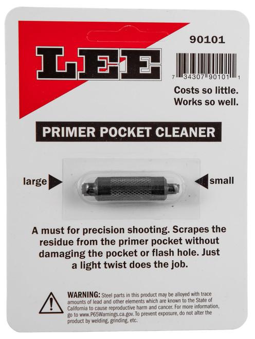 Lee Primer Pocket Cleaner All, Cleans Large & Small Primer Pockets