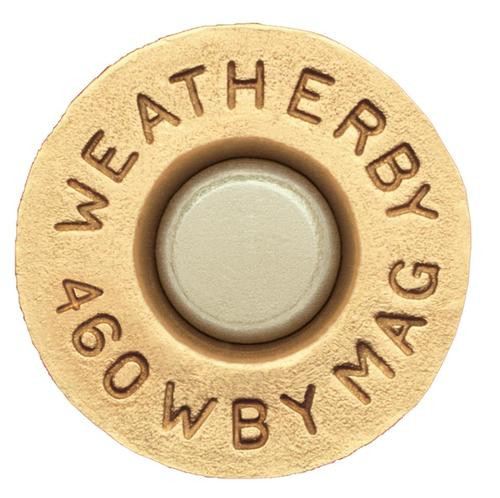Weatherby Unprimed Brass 460 Weatherby Magnum Lightweight 20 Per Box