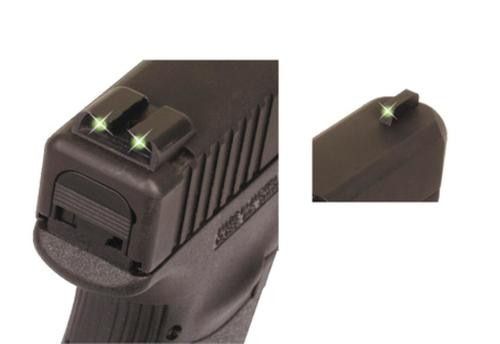 Truglo Tritium Night Sights Glock 10mm/45 ACP Green Front/Rear