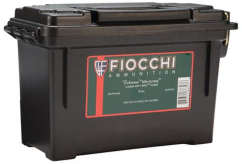 Fiocchi Extrema Hunting .223 Remington 50gr, V-Max 200rd/Case