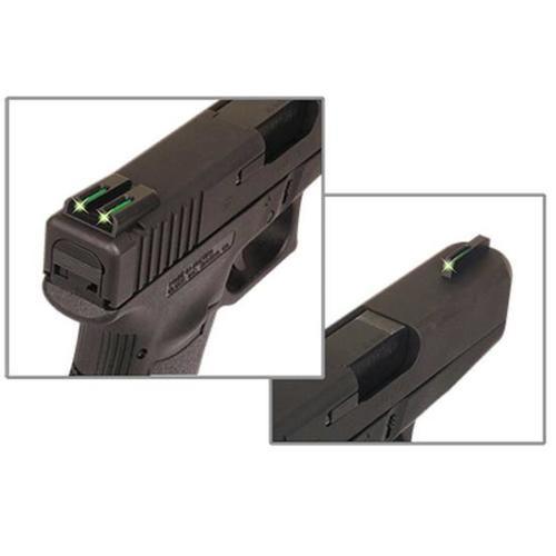 Truglo, Brite-Site Tritium/Fiber Optic Sight, Fits Ruger LC pistols, Green