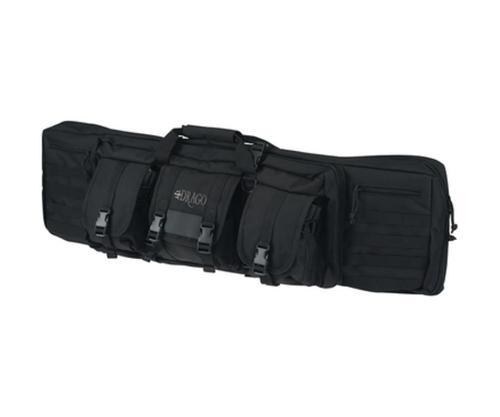 """Drago Gear 12-303BL Tactical Gun Case 42"""" 600 Denier Polyester Black"""