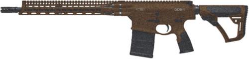 "Daniel Defense DD5V1 308 16"" Barrel Geissele SSA 2-Stage Trigger Dark Brown Cerakote 20rd Mag"