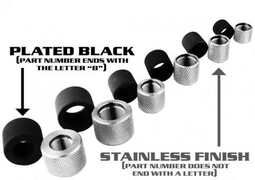 YHM Thread Protector 1/2-28 Black