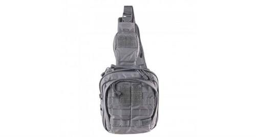 """5.11 Tactical RUSH MOAB 6 Backpack, 10.5""""x9""""x5"""", Double Tap Black"""