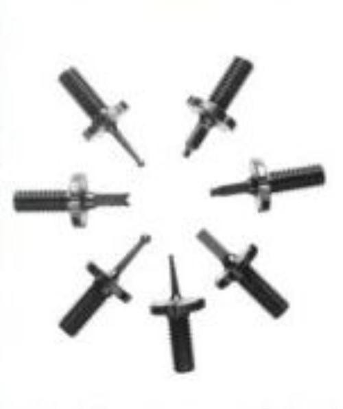 KNS AR15/M16/AR10/ SR25 Post Sight Pack, 7 Sights