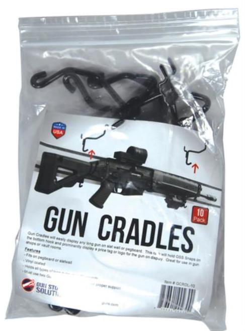 EGW Evolution Gun Works Long Gun Cradles Wall Display Racks