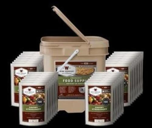 Wise Grab and Go 120 Serving Bucket, Entrees