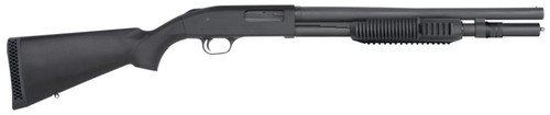 """Mossberg, 590A1, Pump, 12 Ga 3"""", 18.5"""", Parkerized, Synthetic, Right Hand, Cylinder, 3"""", 6Rd, Bead Sight"""