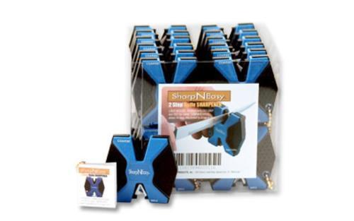 AccuSharp Sharp-N-Easy Sharpener, Blue/Black