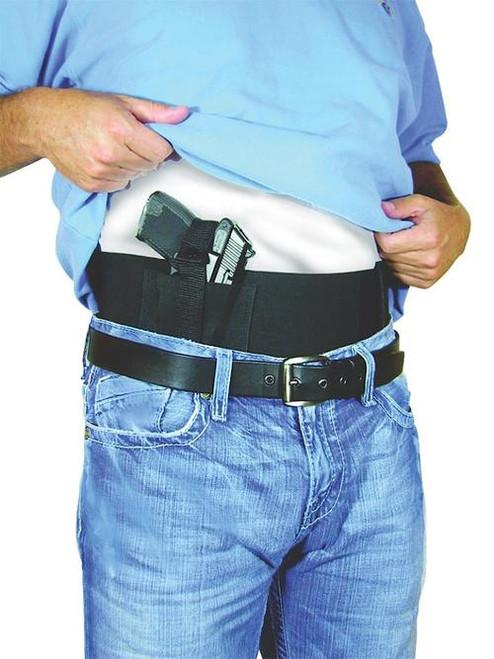 "Peace Keeper Belly Band Concealment Elastic/Velcro Medium 28-34"" Black"