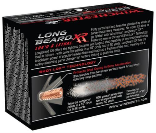 Winchester Long Beard XR 12 Gauge, 3 Inch, 1200 FPS, 1.75 Ounce, 6 Shot, 10rd/Box