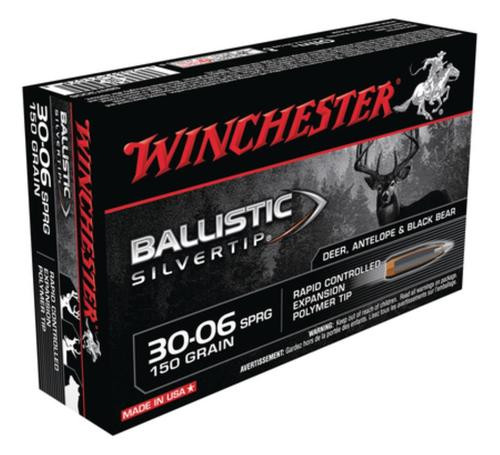 Winchester Supreme 30-06 Spg Ballistic Silvertip 150gr, 20Box/10Case