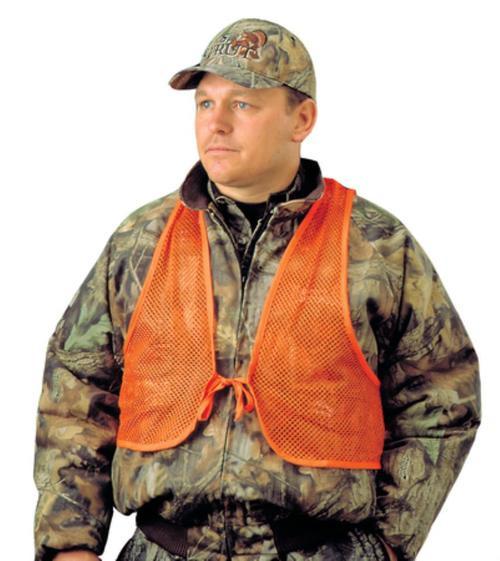 Hunter's Specialties Adult Mesh Safety Vest Orange