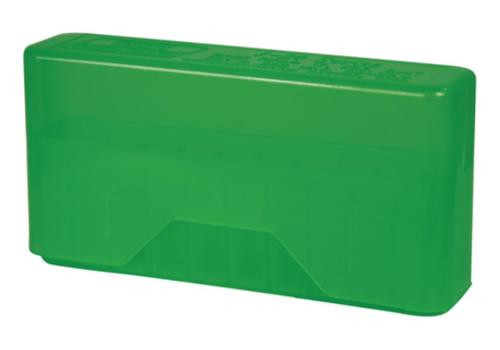 MTM Case Gard J-20 Slip-Top Boxes .17/.223/.222 Magnum Clear Green