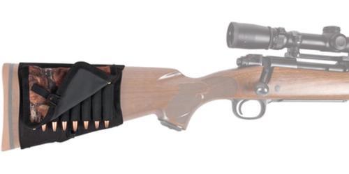 Allen Rifle Shell Holder With Cover Holds 8 Cartridges Black/Mossy Oak Break-Up