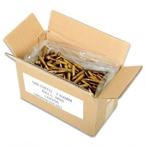 Federal American Eagle 7.62x51mm (.308 Win), FMJ, 149 gr, 500rd Case