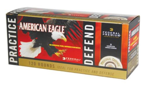 Federal Personal Defense Combo Pack Hydra-Shok/American Eagle .40 SW 180gr, 120 Rd Total