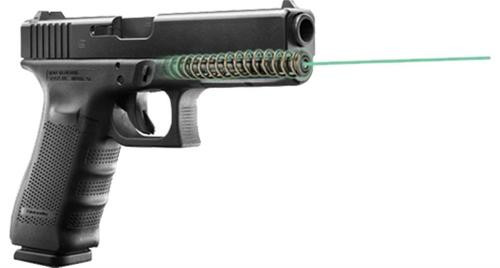 "LaserMax Guide Rod Green Laser For Glock 22 Gen4 4"" Black"